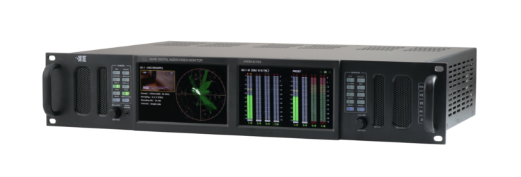 3G-SDI Precision Audio Monitoring Unit