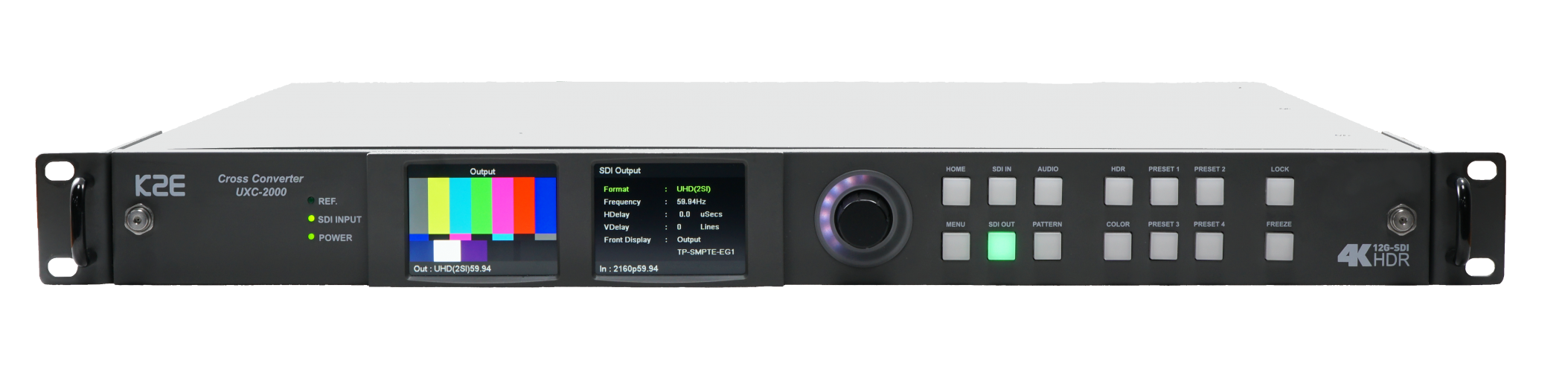 UHD 4K 12G-SDI Cross Converter with HDR/SDR Processing
