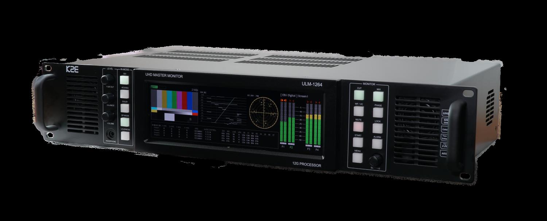 ULM-1264 12G-SDI 4K UHD Precision Audio Monitoring Unit